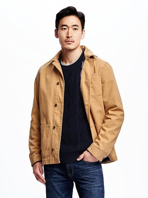 Not as heavy as a winter parka, not as lightweight as a spring jacket -- hence, a great fall coat.