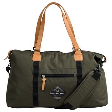 A bit more refined than your average gym bag -- that makes it more versatile, though.