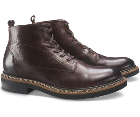 A rich shade of burgundy in oiled full-grain leather -- an excellent fall boot.