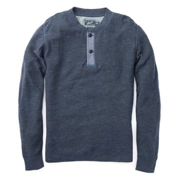 Easygoing, essential and stylish. The Byron Double Cloth Henley definitely gets a lot right!