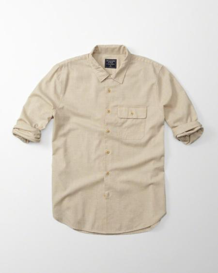 A smartly done piece from Abercrombie & Fitch -- yes, that Abercrombie & Fitch.