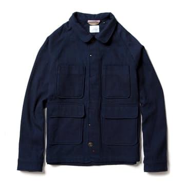 A beautifully made, durable and stylish wool chore coat.