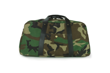 A duffle built with military-grade fabric and inspiration.