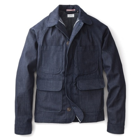 Apolis Selvage Denim Chore Coat