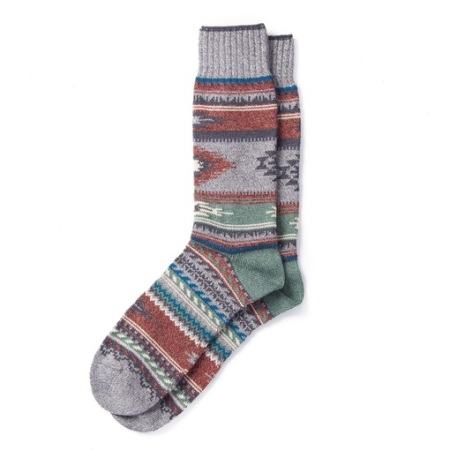 Well-made, super stylish socks -- much better than plain old white socks, ehh?