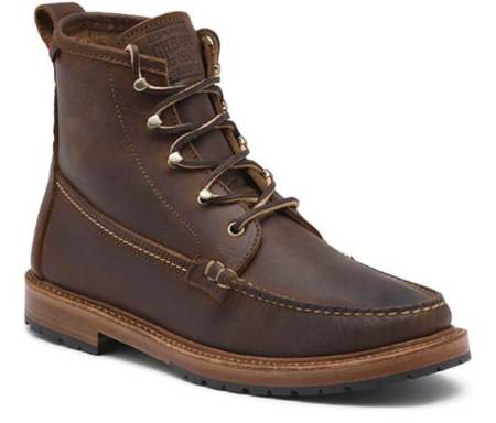 A handsome, functional and tough pair of leather boots fit for anything.
