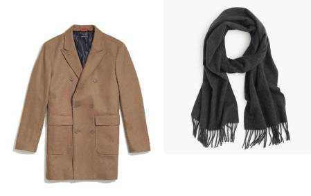 Refined and relatively affordable accessories for a chilly yet dressy night.