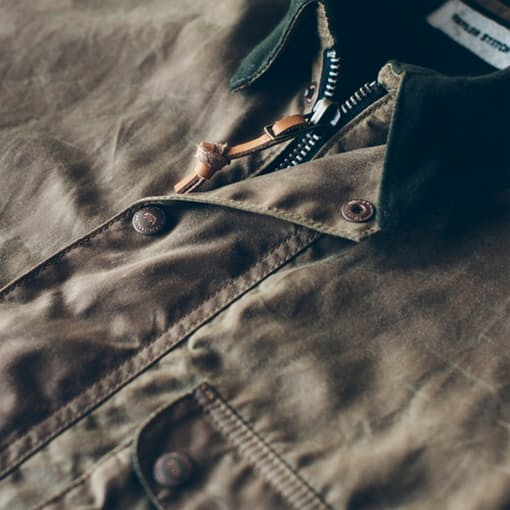 Small, considered details -- right down to the leather pull tab on the zipper.