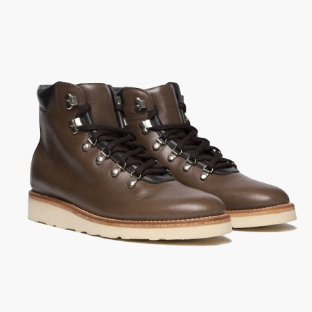 A combination of sporty hikers and rich Horween leather makes these guys a heck of a pair of winter boots.