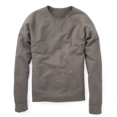 A slim, crisp sweater that's really two for the price of one.