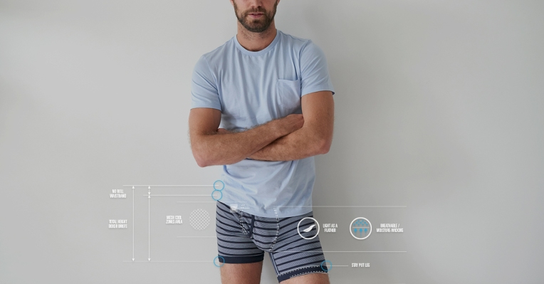 Consider adding a tee to go with your Mack Weldon underwear -- seriously. Photo courtesy of the brand.