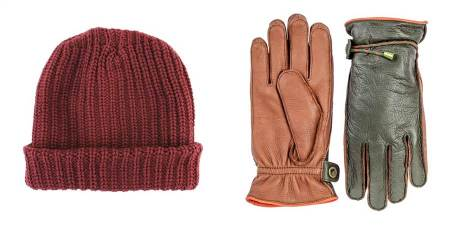 Handsome, essential and warm winter accessories -- crucial, right?