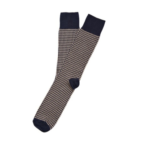 An easy pick when it comes to stylish socks that complement an outfit.