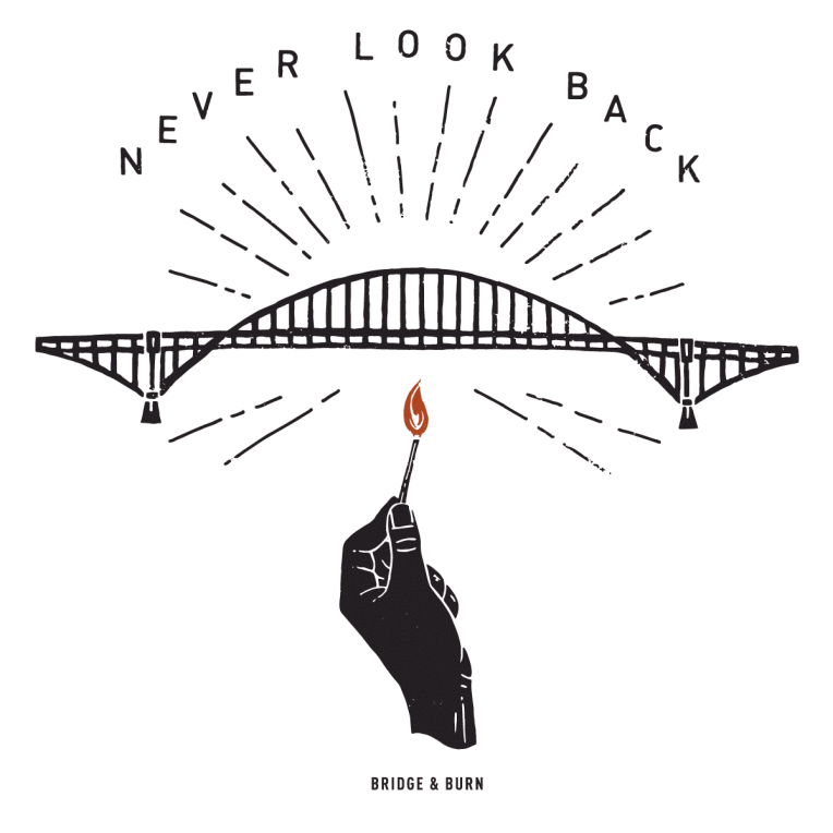 The original Bridge & Burn graphic.