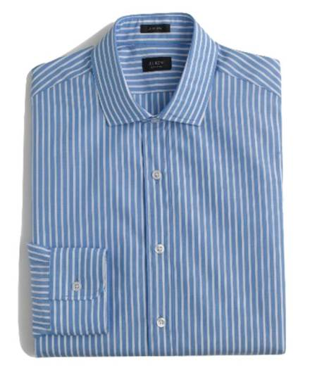 A sharp shirt in an unexpected color.