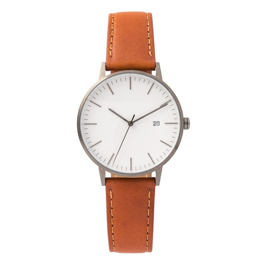 Clean, essential and unique. Everything you could want in a nice leather watch.