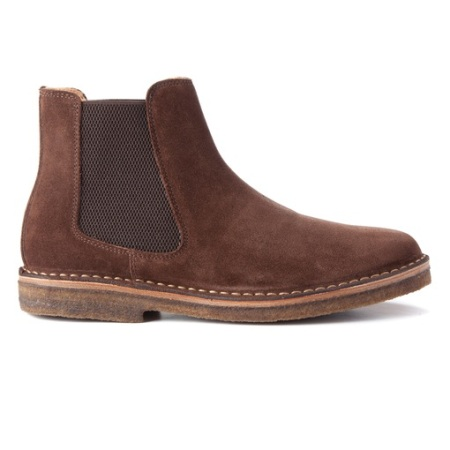An ethically made, great-looking Chelsea boot for a casual style situation.