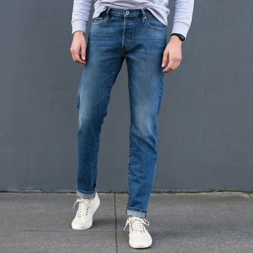 Style Pick Of The Week Flint And Tinder All American Washed Jeans The Style Guide
