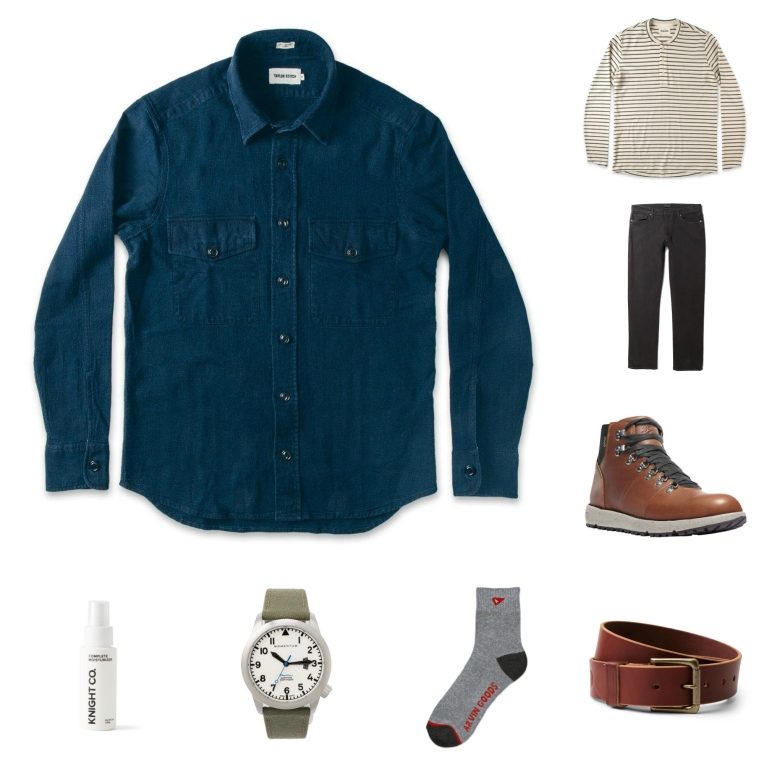 Rugged fall style