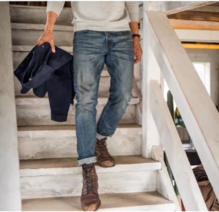 Style Pick Of The Week Flint And Tinder Stonewashed Jeans The Style Guide
