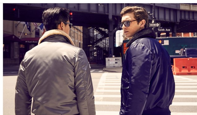 3fc2c40b34382 The jacket on the left is one of the best new men's style essentials you  can snag now … trust me on that.