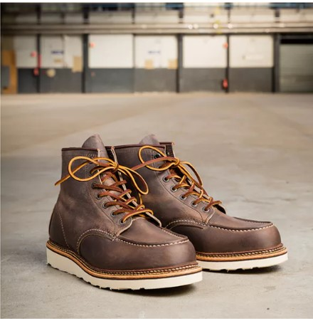 The Red Wing Heritage Classic Moc Boots