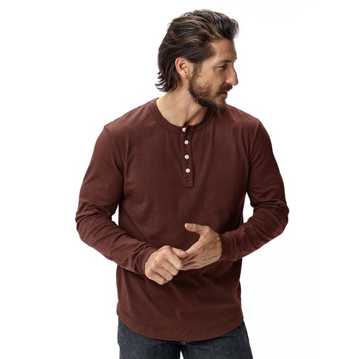 6eb6d98391 A new classic — Buck Mason makes some of the best men s henleys on the  market.