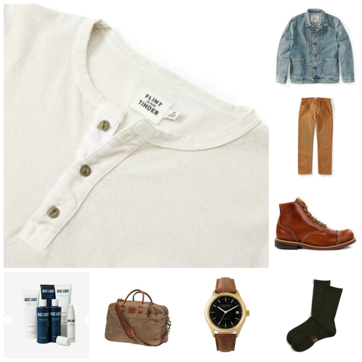 2cd7e4323e The right way to pair up a classic henley with other men s style essentials.