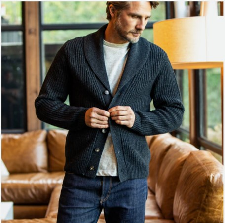 Style Pick Of The Week Wills Cashmere Shawl Collar Cardigan The Style Guide