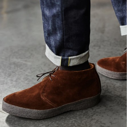 Sanders Hi-Top Dress Chukka Boots