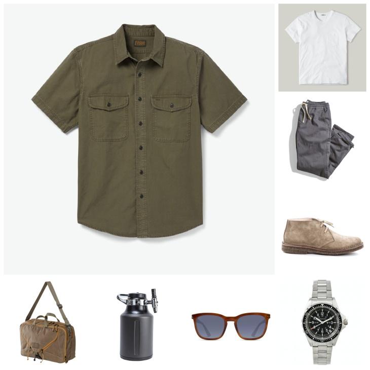 How to wear a short-sleeve shirt