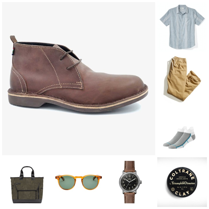 The best way to wear chukka boots this summer
