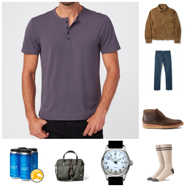 How to wear a henley for summer