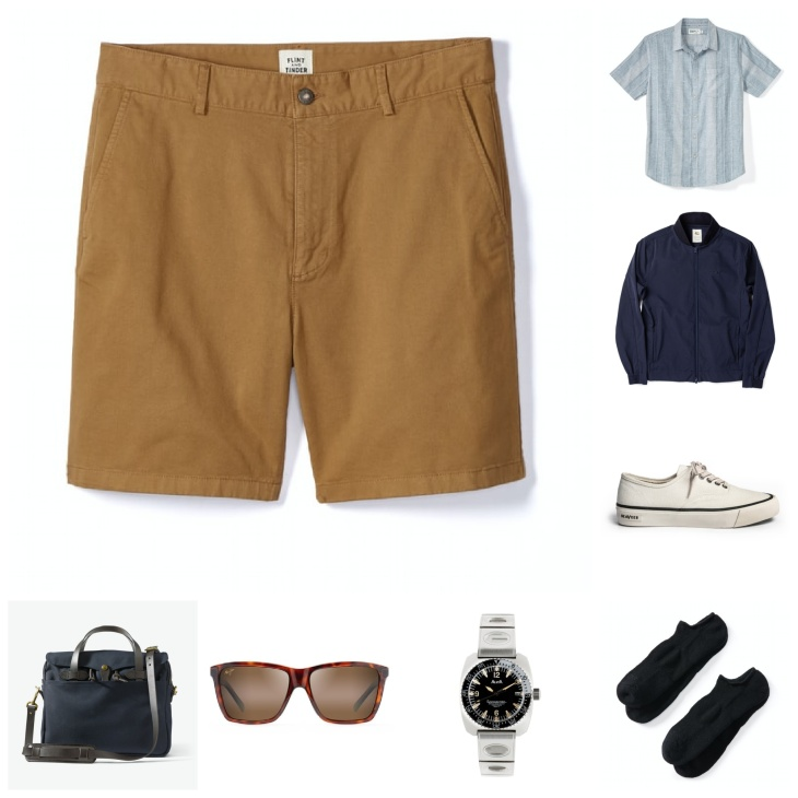 Best way to wear shorts for men